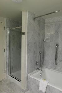 Standard Two Queen Beds with Roll in Shower