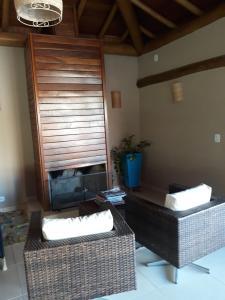 Rancho Dois Irmãos, Ferienhäuser  Carmo do Rio Claro - big - 17
