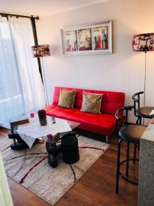 Apart Hotel San Pablo, Apartmány  Santiago - big - 21