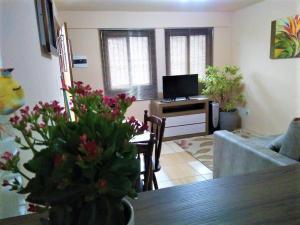 Apartamento próximo ao Centro de Gramado - Charmoso, Апартаменты  Грамаду - big - 24