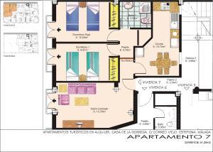 Apartamentos Turísticos Casa de La Borrega, Appartamenti  Estepona - big - 32