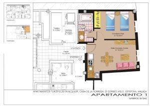 Apartamentos Turísticos Casa de La Borrega, Appartamenti  Estepona - big - 34