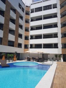 Gold Flat, Apartmanok  João Pessoa - big - 9