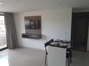 Gold Flat, Apartmanok  João Pessoa - big - 16