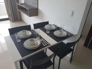 Gold Flat, Apartmanok  João Pessoa - big - 27