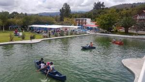 Hosteria San Vicente, Hostelek  Guaillabamba - big - 20