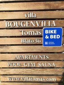 Villa Bougenvilia Tomas, Ferienwohnungen  Tučepi - big - 50