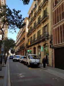 Bd, Проживание в семье  Барселона - big - 183
