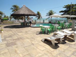 Beira Mar praia de Manaíra, Ferienwohnungen  João Pessoa - big - 11