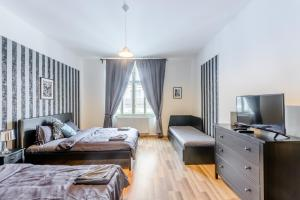 Prague Podbelohorska apartment, Апартаменты  Прага - big - 4