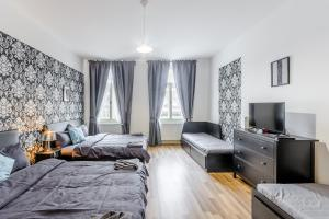 Prague Podbelohorska apartment, Апартаменты  Прага - big - 7