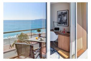 Quarto Premium com Vista Mar e Terraço
