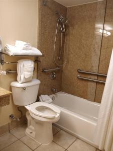 """Номер для некурящих с кроватью размера """"king-size"""" и ванной - Подходит для гостей с ограниченными физическими возможностями"""