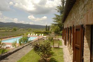 Relais Borgo Di Toiano, Vidiecke domy  Sovicille - big - 5