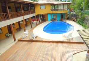 VELINN Caravela Hotel Santa Tereza, Отели  Ильябела - big - 67
