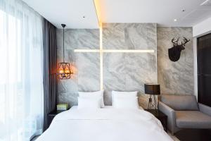 Hotel Laon, Szállodák  Puszan - big - 11