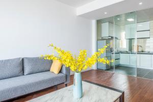 WeiHai Emily Seaview Holiday Apartment International Bathing Beach, Ferienwohnungen  Weihai - big - 24