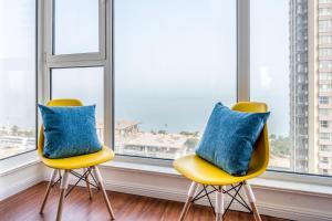 WeiHai Emily Seaview Holiday Apartment International Bathing Beach, Ferienwohnungen  Weihai - big - 33