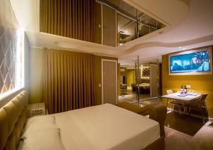 Deluxe-dobbeltværelse med badekar