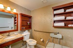 Handicapvenligt værelse med queensize-seng - ikkeryger