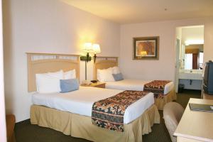 Pokój Dwuosobowy z 2 podwójnymi łóżkami – dla niepalących