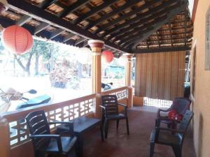 Goan Portuguese Villa, Ville  Saligao - big - 22