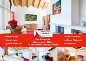 Family Hotel and Spa Desiree, Hotels  Grächen - big - 54