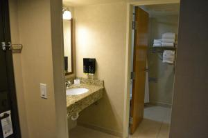 Deluxe Queen Room with Two Queen Beds and Water View - Pet Friendly