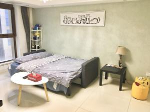 Watermelon's Home_Hongyuecheng, Apartmány  Nanjing - big - 15