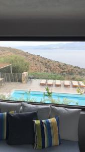 Villa Olga, Vily  Agios Nikolaos - big - 27