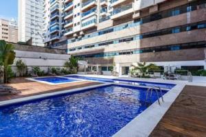 Flat Guarujá Capitania Varam, Appartamenti  Guarujá - big - 14
