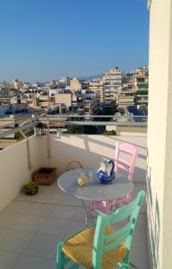 Bright apt, amazing view!, Apartments  Athens - big - 68