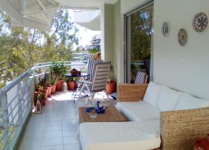 Bright apt, amazing view!, Apartments  Athens - big - 2