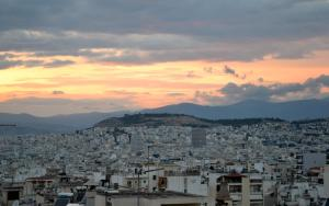 Bright apt, amazing view!, Apartments  Athens - big - 22