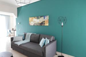 Joyful Turquoise Apt in Athens Historic Centre, Apartmanok  Athén - big - 8