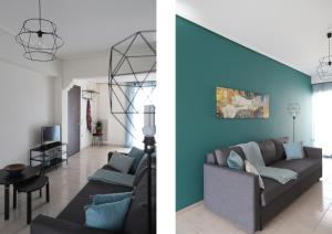 Joyful Turquoise Apt in Athens Historic Centre, Apartmanok  Athén - big - 21
