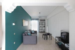 Joyful Turquoise Apt in Athens Historic Centre, Apartmanok  Athén - big - 22