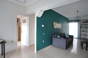 Joyful Turquoise Apt in Athens Historic Centre, Apartmanok  Athén - big - 28