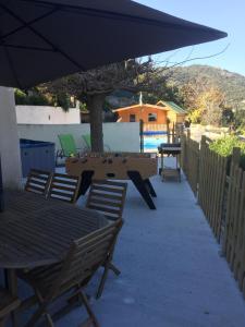 Holiday home Fontaine du Salario A Sarra, Prázdninové domy  Ajaccio - big - 12