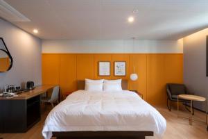 Brown-Dot Hotel Beomcheon, Hotely  Busan - big - 20