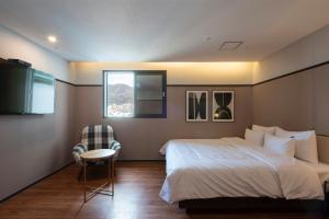 Brown-Dot Hotel Beomcheon, Hotely  Busan - big - 16