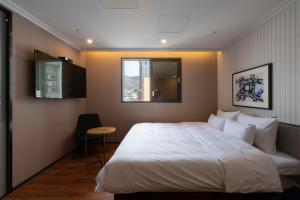 Brown-Dot Hotel Beomcheon, Hotely  Busan - big - 25