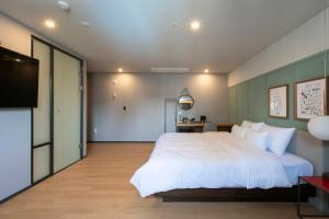 Brown-Dot Hotel Beomcheon, Hotely  Busan - big - 54