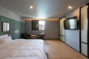 Brown-Dot Hotel Beomcheon, Hotely  Busan - big - 45