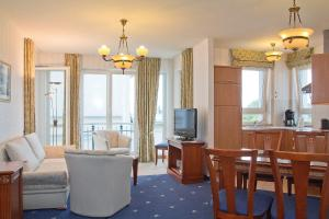 Апартаменты с 1 спальней с видом на море