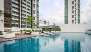 Evosoho Suite @ Bandar Baru Bangi, Apartmány  Kampong Sungai Ramal Dalam - big - 14