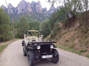 Montserrat La Calsina, Country houses  Monistrol - big - 33