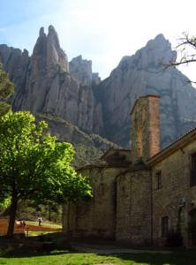 Montserrat La Calsina, Country houses  Monistrol - big - 39