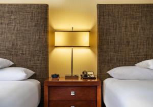 Chambre avec 2 Lits Doubles - Étage Supérieur