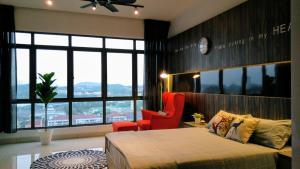 Evosoho Suite @ Bandar Baru Bangi, Apartmány  Kampong Sungai Ramal Dalam - big - 29